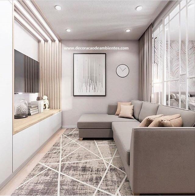 Decoração de apartamento pequeno - conjugado - kitnet- flat