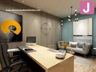 Dicas de como ter o escritório ou home office decorado, organizado e sem distrações.