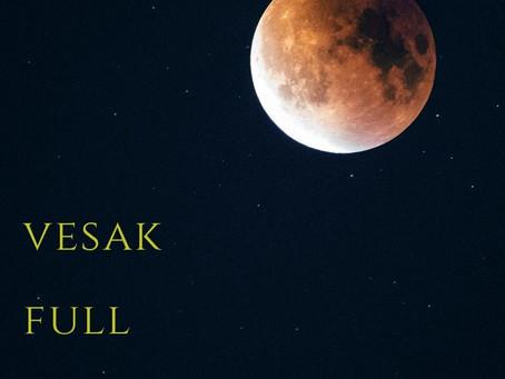 ウエサク満月のメッセージとエネルギー