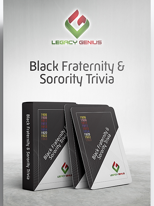 Black Fraternity & Sorority Trivia