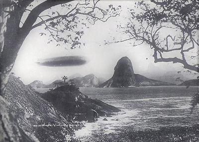 Zeppelin,Baia_de_Guanabara,25-5-1930  Un