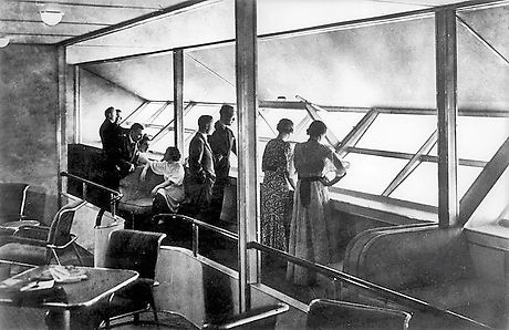LZ_129_Hindenburg_interior Nationaal Arc
