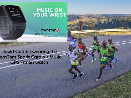 David Gatebe keeping the pace with TomTom