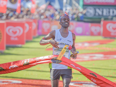 Comrades Marathon 2016 Winner David Gatebe