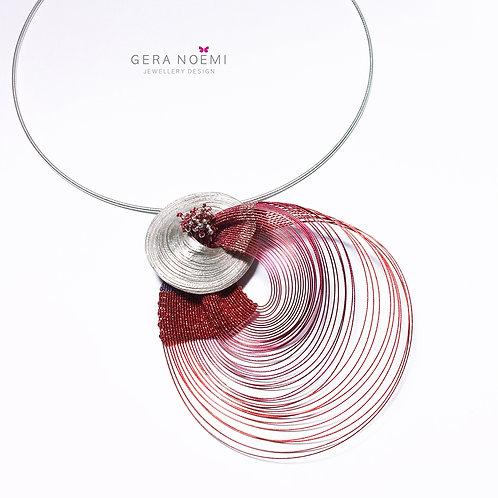 Gera Noémi Jewellery // Lebegő lélegzet nyakék