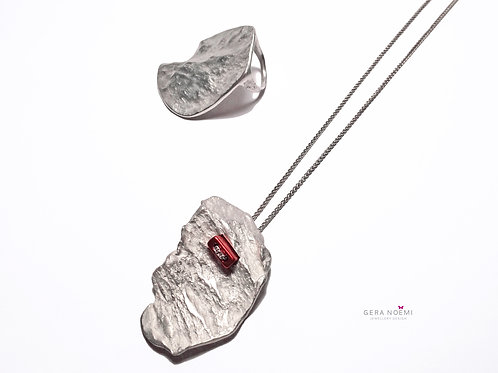 Gera Noémi Jewellery // SZIKLA ÉKKEL nyakék