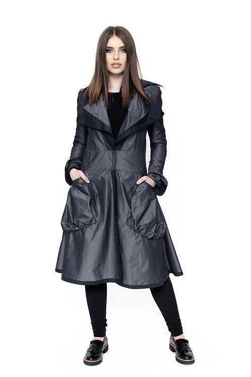 SustiKKrisztA // Hosszú vízlepergető nagy zsebes kabát