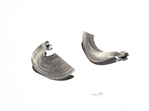 Gera Noémi Jewellery // SPIRÁL füli sima vagy műgyantával színezett