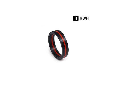 If Jewel // Flag I. gyűrű - fekete