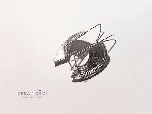 Gera Noémi // Holdtekercs fülbevaló