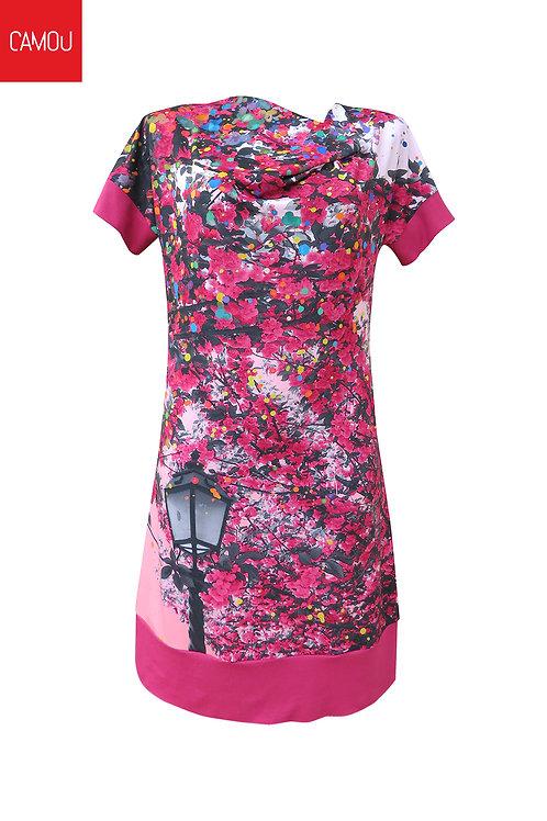 Camou // Cseresznyefás ruha