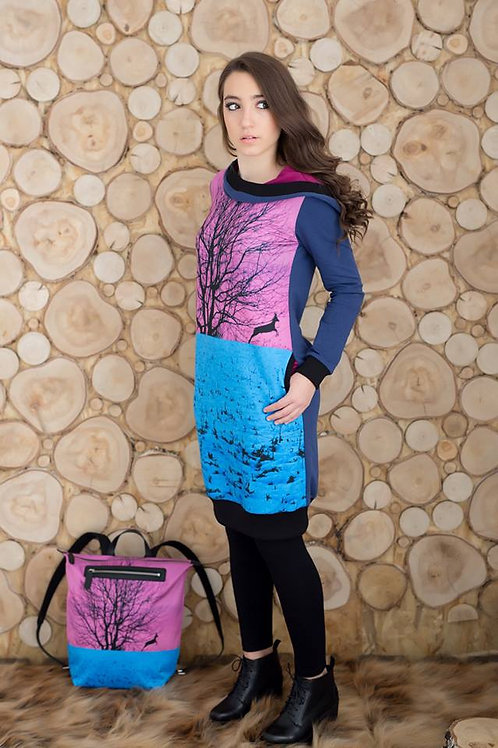 Camou // Kapucnis őzes ruha