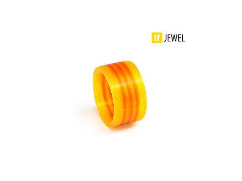 If Jewel // Flag III. gyűrű - sárga