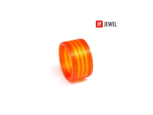 If Jewel // Flag III. gyűrű - piros