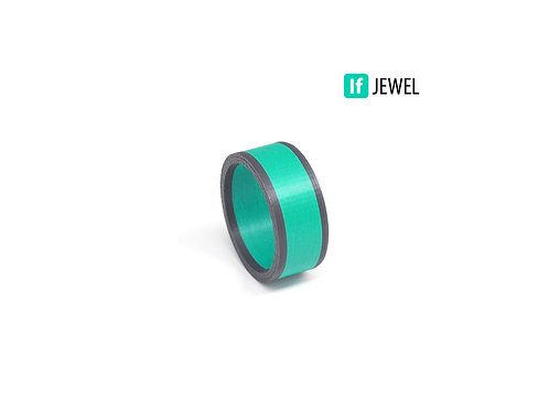 If Jewel // Flag II. gyűrű - türkiz