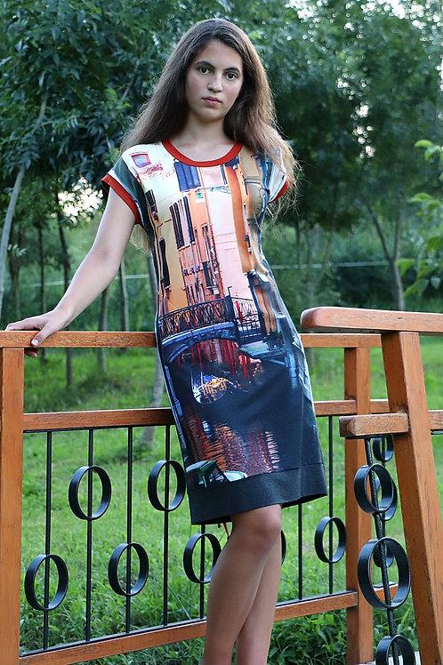 Camou // Viszkóz Velence ruha