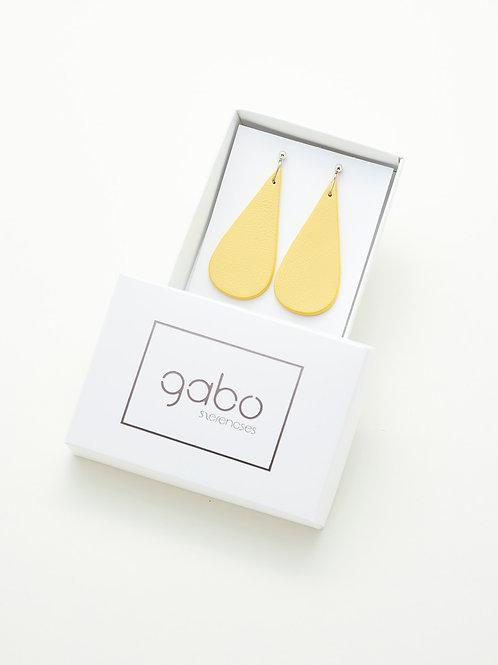 Gabo Szerencses // Csepp fülbevalók // Sárga