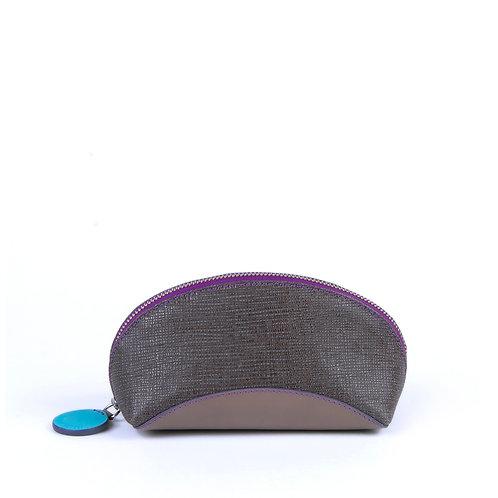 Lengyel Zsuzsi // Neszeszer szürke-textilmintás