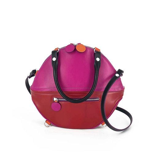 Lengyel Zsuzsi // Big Bag Builder kétrészes pink