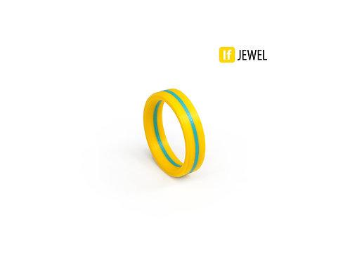 If Jewel // Flag I. gyűrű - sárga