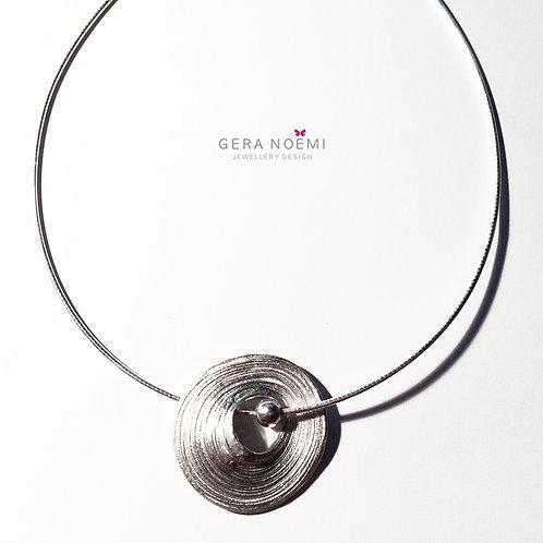 Gera Noémi Jewellery // Ezüst Tekercses nyakék