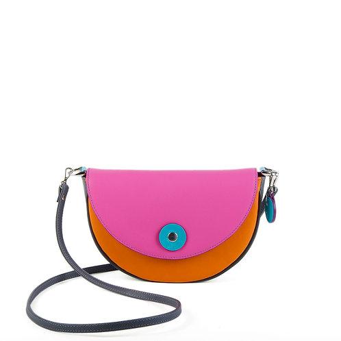 Lengyel Zsuzsi // Ylang Ylang táska pink-narancs-szürke