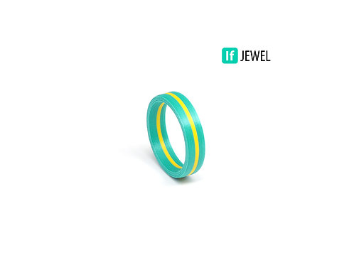 If Jewel // Flag I. gyűrű - türkiz