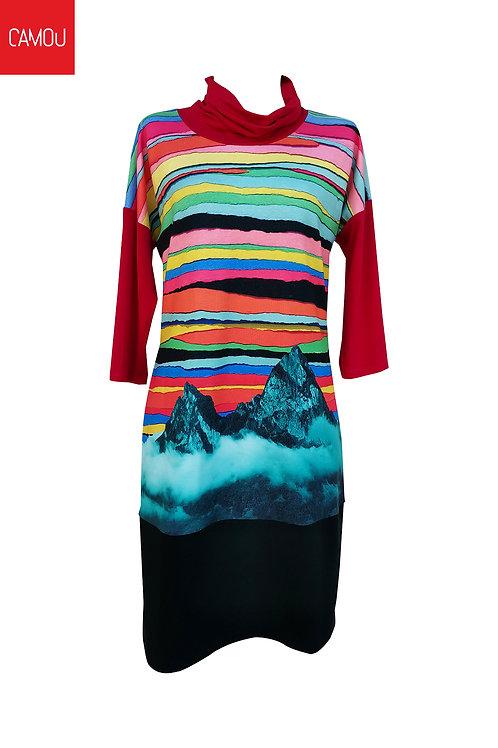 Camou // Megkötős hegyes ruha