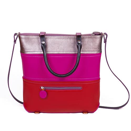 Lengyel Zsuzsi // Big Bag Builder pink-piros