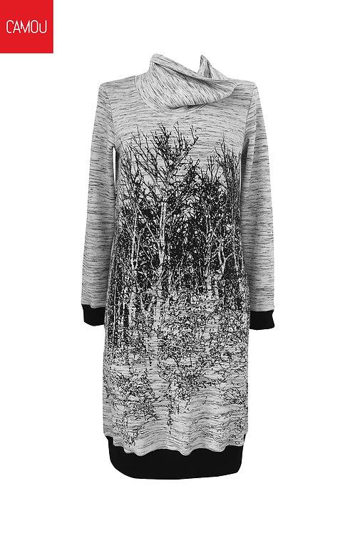 Camou // Szitázott fás ruha