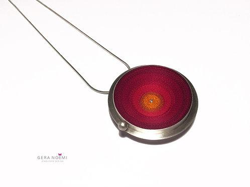 Gera Noémi Jewellery // Szalagtányér nyakék