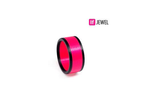 If Jewel // Flag II. gyűrű - pink
