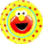 Elmo party supplies | Elmo party plates
