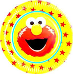 Elmo party packs, elmo balloon, elmo tablecover,elmo party cups,sesame street character elmo, pack party kids
