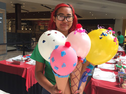 Balloons Ice Cream