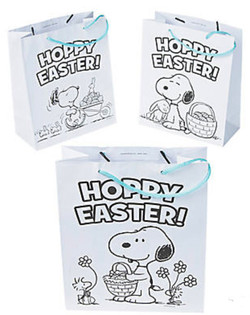 Easter Coloring Bags