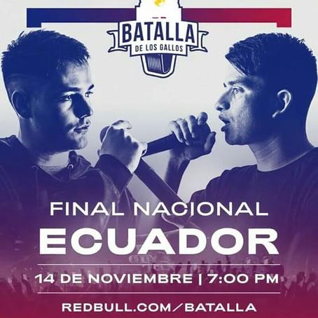La Red Bull Batalla de los Gallos regresa con fuerza a Ecuador 🔥