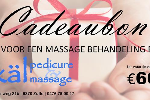 Cadeaubon Massage