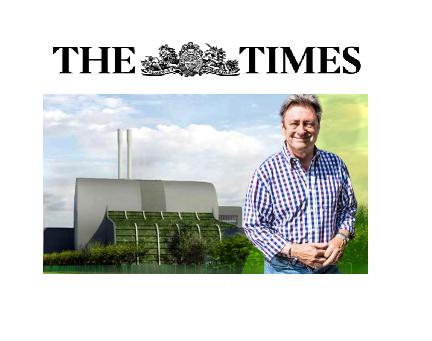 "The Times: ""Alan Titchmarsh blazes at blot on the horizon"""