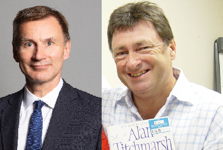 Jeremy Hunt MP and Alan Titchmarsh add their voices to the campaign