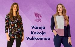 Värejä Kokoja Valikoimaa - SeniorShopSuomi.fi