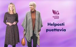 Helposti puettavia asuja - SeniorShopSuomi