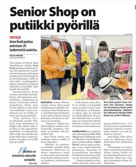 SENIOR SHOP ON PUTIIKKI PYÖRILLÄ