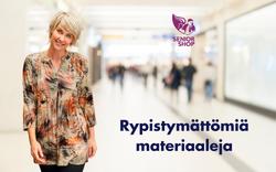 Rypistymättömiä materiaaleja - SeniorShopSuomi.fi