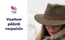 Vaatteet päästä varpaisiin - SeniorShopSuomi.fi
