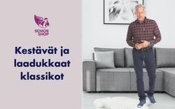Kestävät ja laadukkaan klassikot - SeniorShopSuomi.fi