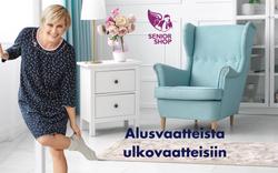 Alusvaatteista ulkovaatteisiin - SeniorShopSuomi.fi