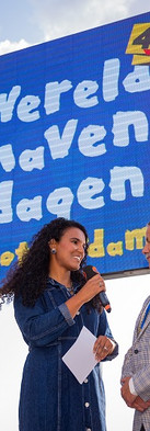 Hosting opening event of the 40th edition of the World Harbour Days in Rotterdam.  Live Host - Wereldhavendag Rotterdam