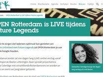Interviewed a bunch of guests and gave context as a host and onsite producer and director on 'Rotterdam Viert de Stad' series, produced to broadcast and follow the celebrations across the city to celebrate 75 years of reconstruction.