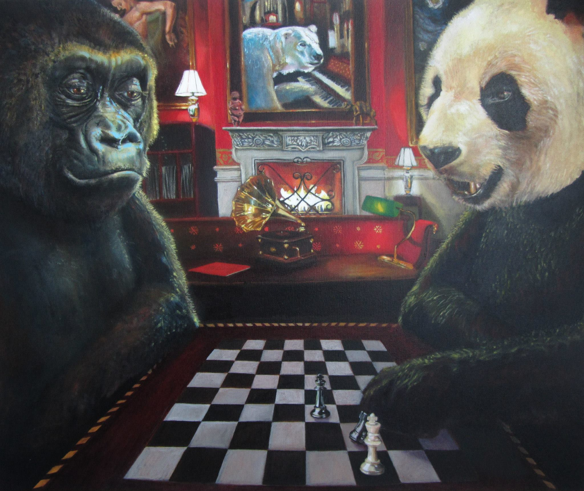 Chess in the Red Room